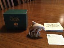 Harmony Kingdom Squee Dolphin & Baby NetsUke Figurine - Nib