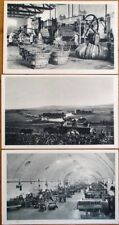 Champagne Moet et Chandon 1920 Advertising Postcards: SET OF THREE DIFFERENT