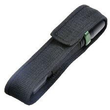 Folded Tactical Nylon Holder Belt LED Cover Pouch Flashlight Torch Bag Case