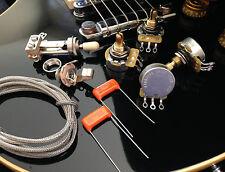 TAOT Wiring Kit - LES PAUL® - SHORT Shaft - CTS 450G Pots, Orange Drops