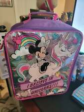 minnie mouse 17 inch Softside Kids Carry-on Pilot Case Luggage New disney