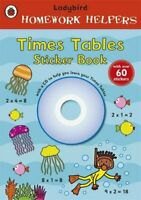 Ladybird Homework Helpers: Times Tables Sticker Book with CD,Ladybird