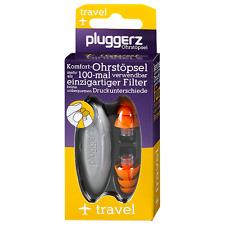 Pluggerz travel Ohrstöpsel Gehörschutz für die Ohren für Flugreisen NEU OVP