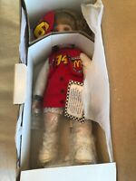 Vintage Nascar Porcelain Doll Bill Elliot #94, Hamilton Collection BRITTANY