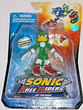JAZWARES Video Game SONIC HEDGEHOG Free Riders - JET HAWK Poseable Action Figure