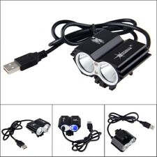 Bycicle MTB LED Light Bicycle Lamp Headlight 8000LM Brightness for Night Riding