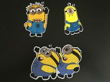 Sew on & iron on embroidery patches(Minions)