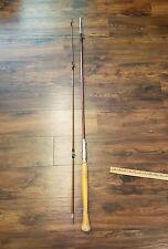 "Vintage Split Bamboo Cast Rod ""West"" Coast Horrocks Ibbotson Great Wood Restore"