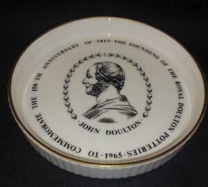 Royal Doulton 150th anniversary 1965 Trinket Pin Dish Coaster FREE UK P&P