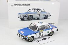AUTOart 1:18 scale BMW 2002 Turbo #76 Winner 1972 TAP Portugal Rally A.Warmbold