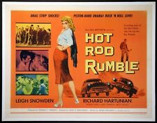 Hot Rod Rumble movie film DVD transfer Hot Rod Drag Race Car Club Gang greaser