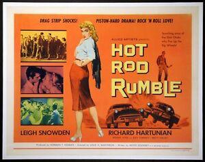 Hot Rod Rumble movie film DVD transfer Hot Rod Drag Race Car Club Gang greaser