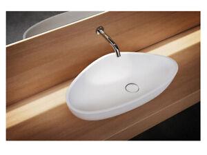 Agape Drop ACER1098Z countertop washbasin in Cristalplant