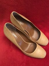 Hobbs London Heels Mustard Size 41 / 8 - RRP £250
