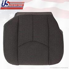 2004 GMC Sierra 1500 1500HD Front Driver Side Bottom Dark Gray Cloth Seat Cover