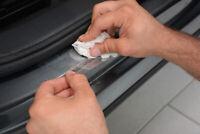 Einstiegsleisten für VW POLO 6 AW 2017 Lackschutz Transparent Extra Stark 240µm