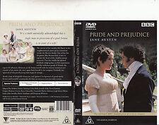 Pride And Prejudice-1995-Minie Series[327 minutes]-Colin Firth-2 Disc-Movie-DVD