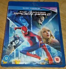 THE AMAZING SPIDER-MAN 2 - MARVEL - VGC - REGION B - BLU-RAY !!