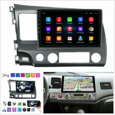 10.1'' HD Android 9.1 Quad-core Car Stereo Radio GPS WIFI Player For Honda Civic