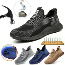 Womens Work Boots Steel Toe Cap Safety Shoes Lightweight Breathable Sneakers