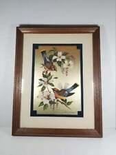 Homco Home Interiors Richard Whiteside Birds On Dogwood Picture