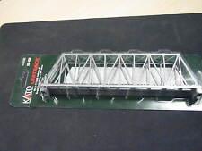 """Kato N-scale UniTrack Single Truss Bridge 248mm 9-3/4"""" - Silver 20-433"""