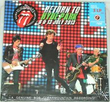 ROLLING STONES – Return To Hyde Park, London, July 2013, LP Box 3 LP + 2 CD, CV