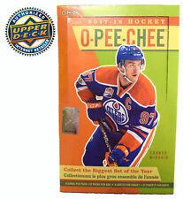 2017-18 Upper Deck OPC O-Pee-Chee Factory Sealed Hockey Hobby Box