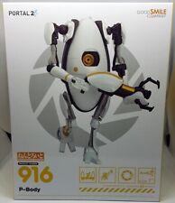NEW  Good Smile Company 916 Portal 2 Nendoroid P-Body + Gun + Portals  FEB188862