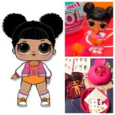 LOL Surprise Hoops MVP Basketball Doll Series1 Ball Dolls BigSister Complete NEW