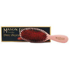 Mason Pearson SB4 Puro Cerda Bolsillo Sensible Pelo Cepillo - Rosado