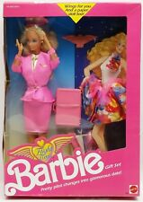 Barbie Flight Time Gift Set 1989 Mattel 9584 NRFB