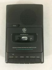 GE 3-5027A Personal Portable Recorder & Cassette Player Built In Mic