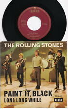 The ROLLING STONES * Paint It, Black * 1966 GERMANY Original 45 * Large Letterin