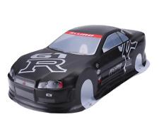 1/10 Rc Car Onroad Body Shell Nissan Gtr For Tamiya TT02 TT01E Hpi Rs4 Sprint2