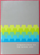 Radio Shack Tandy Introduction to the Model 2000 June 1984 Edition Paperback