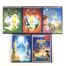La Fée Clochette 1 + 2 + 3 + 4 Et Pirate / Lot Coffret 5 DVD Disney