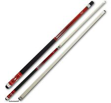 CUETEC STARLIGHT 99266 BILLIARD GAME TABLE TWO PIECE POOL CUE STICK + FREE CASE