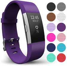 Fitbit Charge 2 Strap Band Yousave Accessories Replacement Silicone Sport...
