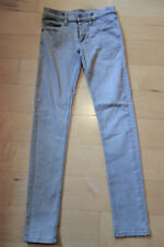 Cheap Mondays Zip Low 'Very Used Grey' Jeans - 28/32