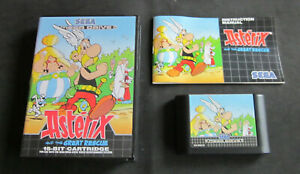 Sega Mega Drive  Asterix and the Great Rescue  mit Box und Anleitung