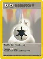 Double Colorless Energy Uncommon Pokemon Card Base Set Unlimited English 96/102