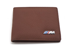 BMW M - PERFORMANCE  BROWN WALLET  FASHION GIFT FREE SHIPPING WITH TRACKING!!!!!