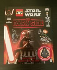 Lego Star Wars: The Dark Side (Hardback) Brand New Includes Emperor Mini Figure