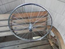 "24 X 1-3/8"" Rear Bicycle Wheel, Steel"