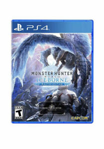 Monster Hunter World: Iceborne Master Edition - PlayStation 4 PS4 New Sealed