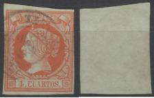 SELLOS ESPAÑA 1860-1861.  EDIFIL Nº 52. ISABEL II. USADO.