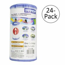 Intex Pool Easy Set Type A Replacement Filter Pump Cartridge (24 Pack) | 29000E