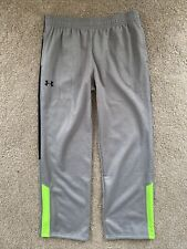 Under Armour Storm Youth Sz Xl 30x30� Unstretched Gray Athletic Sweat Pants
