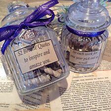 1 Year of Brontë Quotes ~ Emily Brontë, Charlotte Brontë, Literary gift